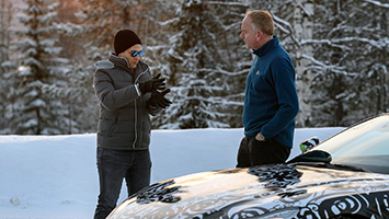 2019 Aston Martin Vantage Cold Weather Testing