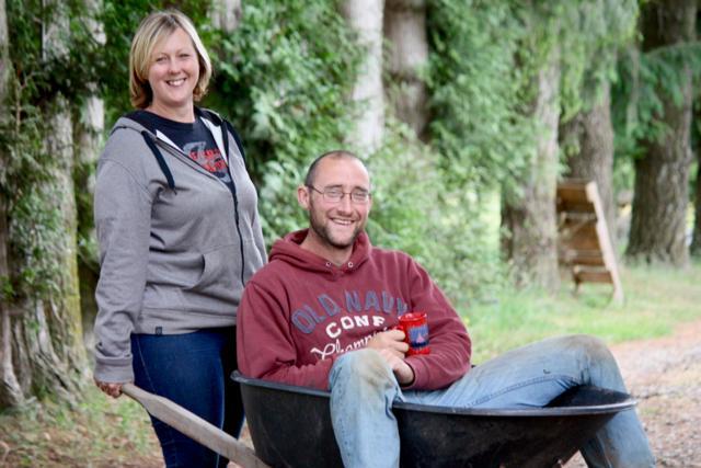 Cathy and Ian