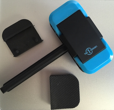 Ten One Design Mountie with a selection of grip pads