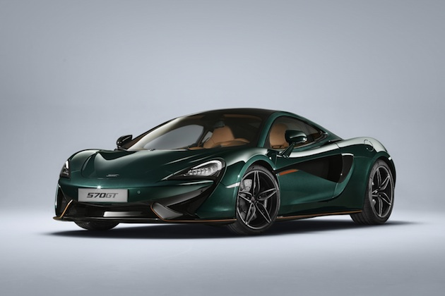 マクラーレン、歴史を感じさせる「XPグリーン」でペイントした「570GT」の限定モデルを発表!
