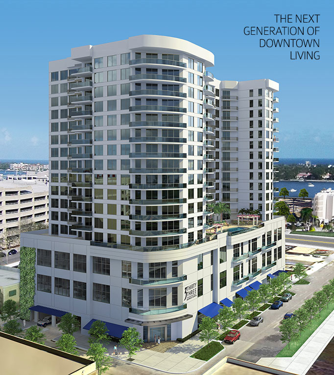 rendering of 3 Thirty Three Downtown