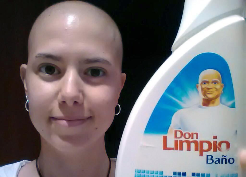 María de la Villa supo tomarse el cáncer con