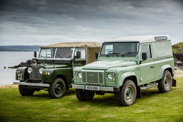 Land Rover Series 1 and Defender Heritage