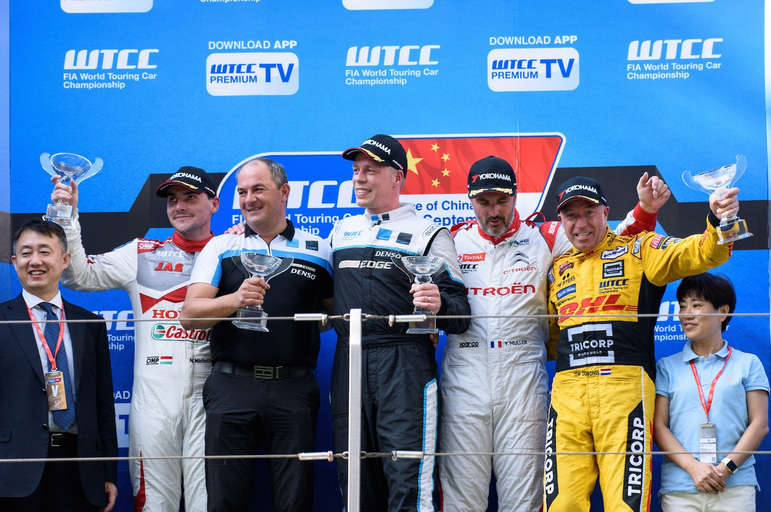 Thed Bj_rk claims maiden WTCC victory on a historic weekend for Polestar Cyan Racing