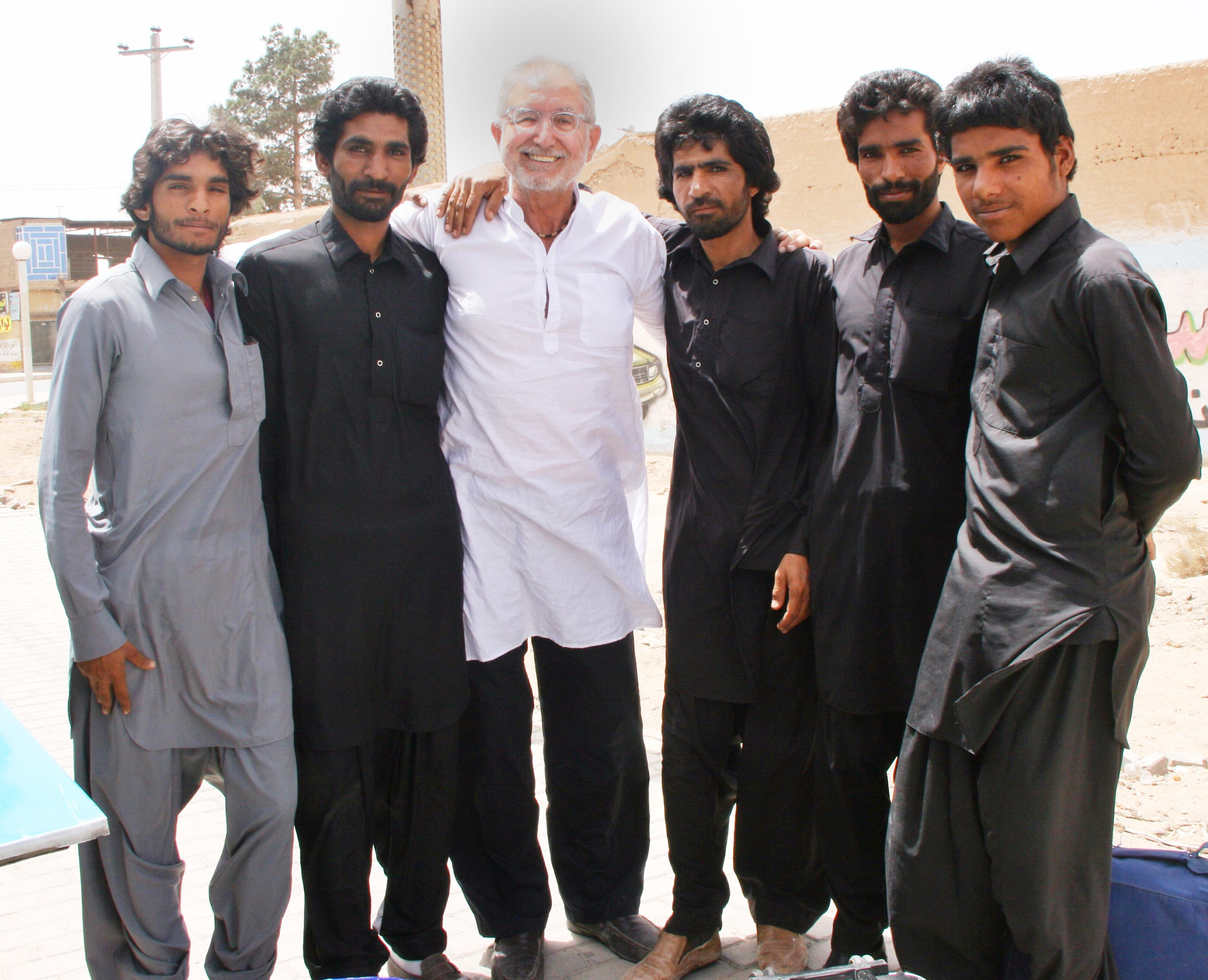 On my recent trip to Iran in 2014, I met up with and befriended this gang of brothers from Baluchistan...