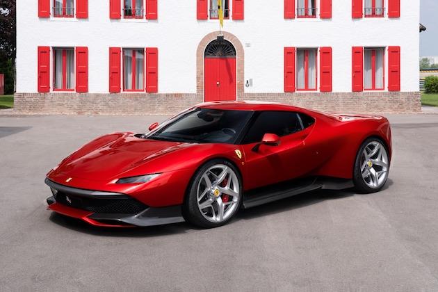 フェラーリ、特別な顧客のために製作された最新ワンオフ・モデル「SP38」を公開!