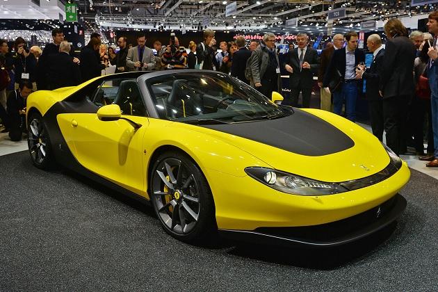 【ジュネーブ2015】生産台数わずか6台のフェラーリ「セルジオ」が公開!