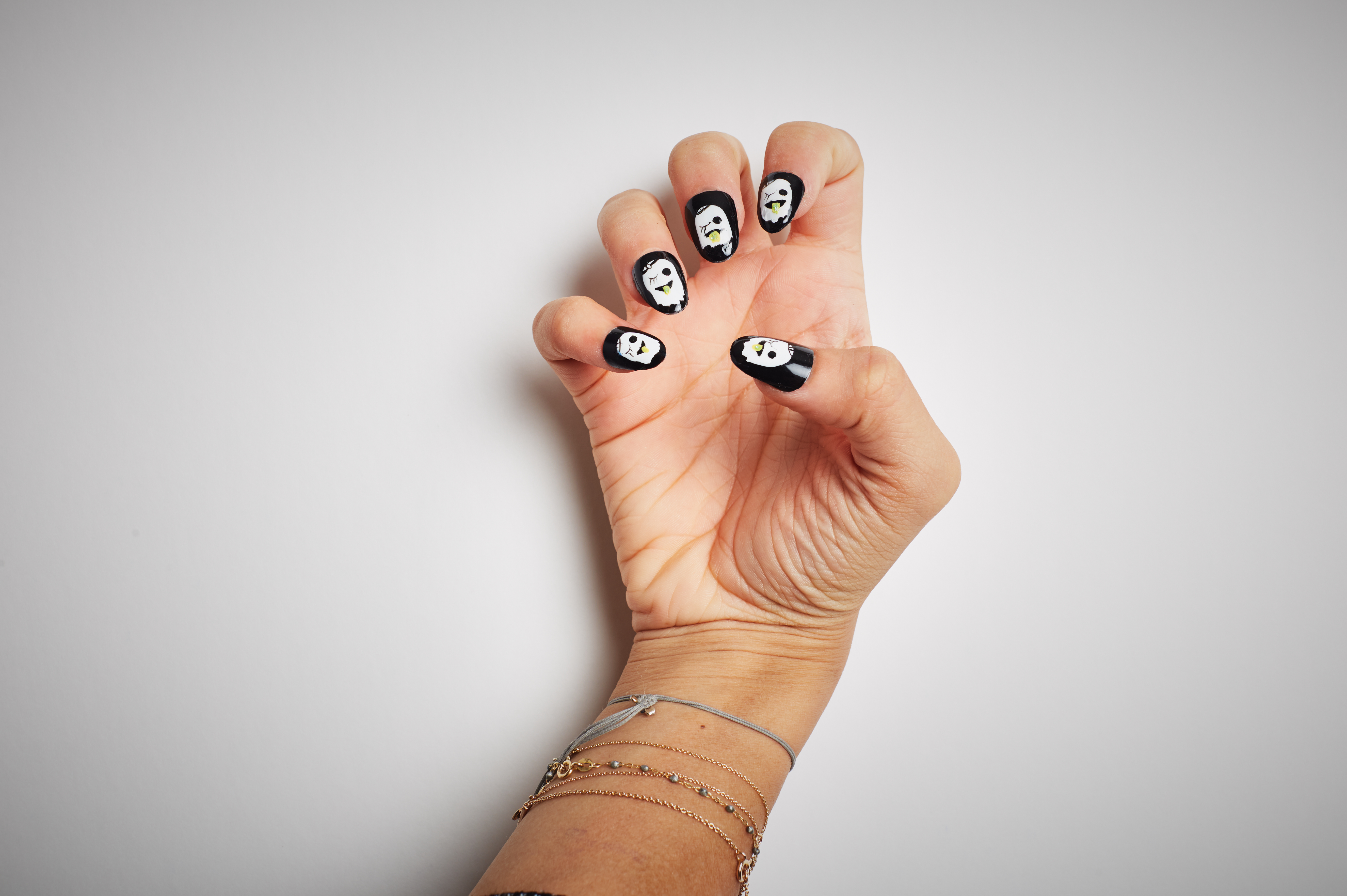 ghost nails are all the rage this halloween - aol lifestyle