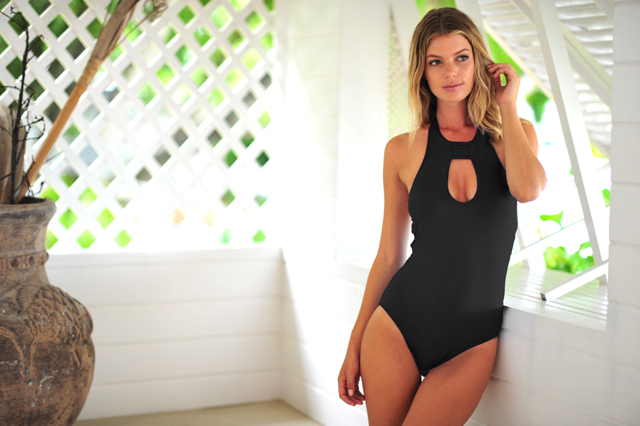 Seafolly cut out swimsuit