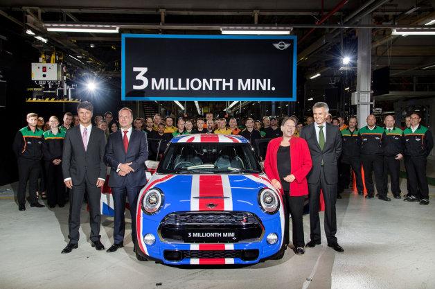 【ビデオ】MINIが早くも生産台数300万台を達成 製造過程も映像で紹介