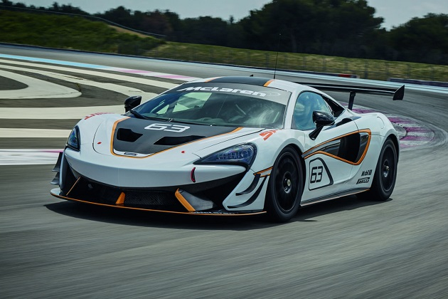 マクラーレン、サーキット走行用の新型モデル「570S スプリント」をグッドウッドで発表!