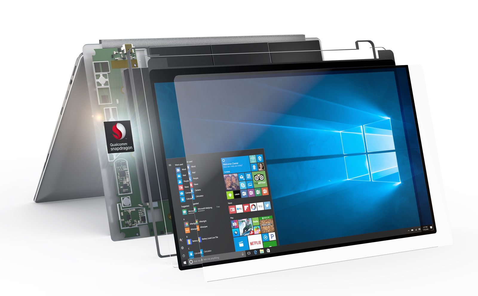 AMD and Qualcomm join forces to power higher-end connected PCs