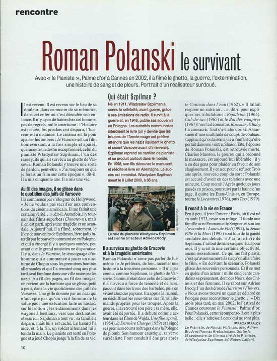 Roman Polanski est en France pour une rétrospective: va-t-il subir les conséquences de l'affaire