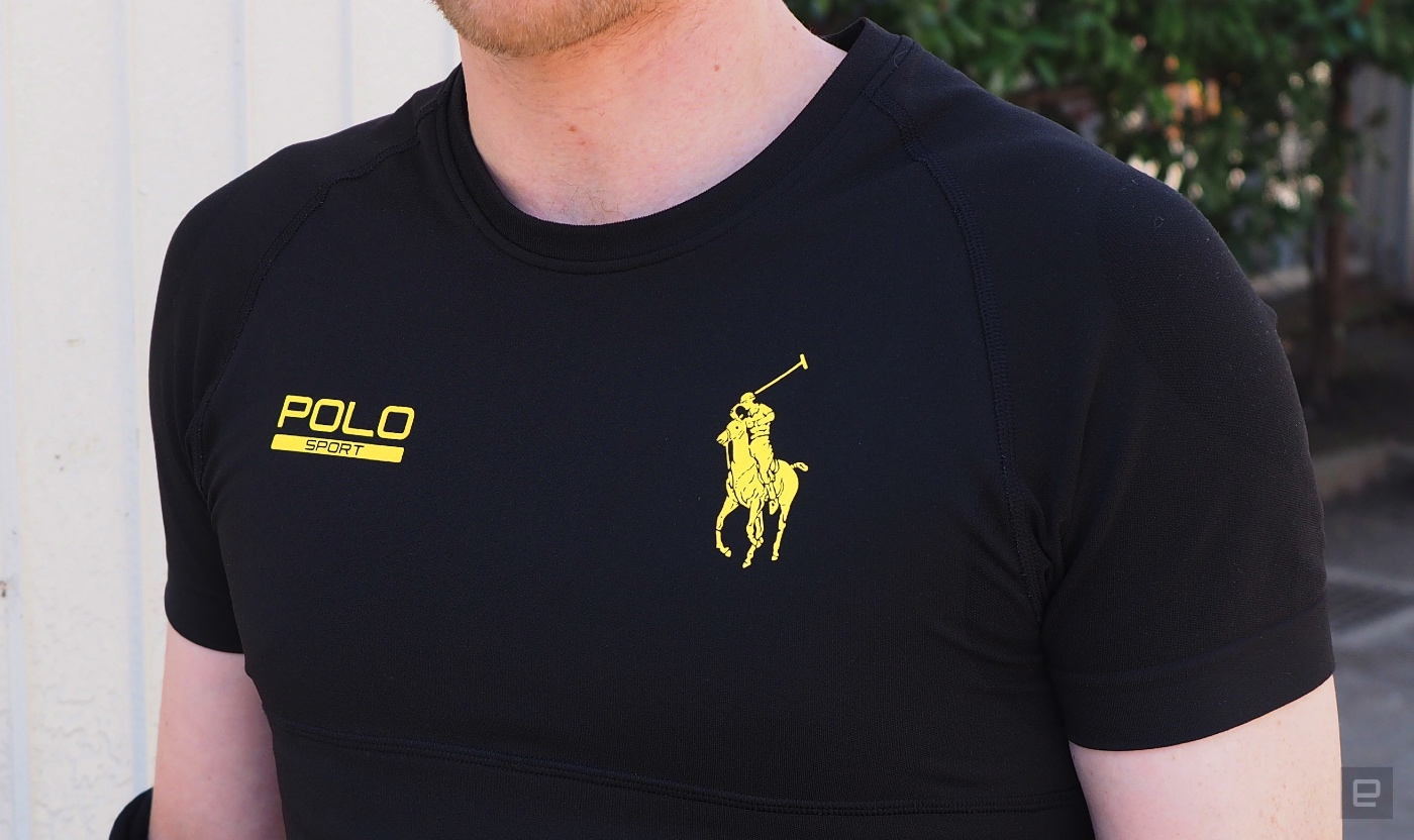 6f47b167 Ralph Lauren made a great fitness shirt that also happens to be 'smart'