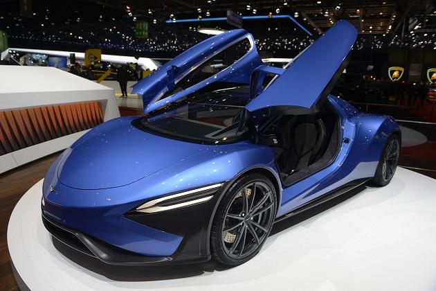 【ジュネーブ・モーターショー】1,030馬力で最大航続距離は2,000km!? 中国のテックルールズがタービン・ハイブリッドのコンセプトカーを発表
