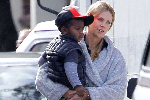 Charlize Theron Questioned By Police Over Toddler Son Jacksons