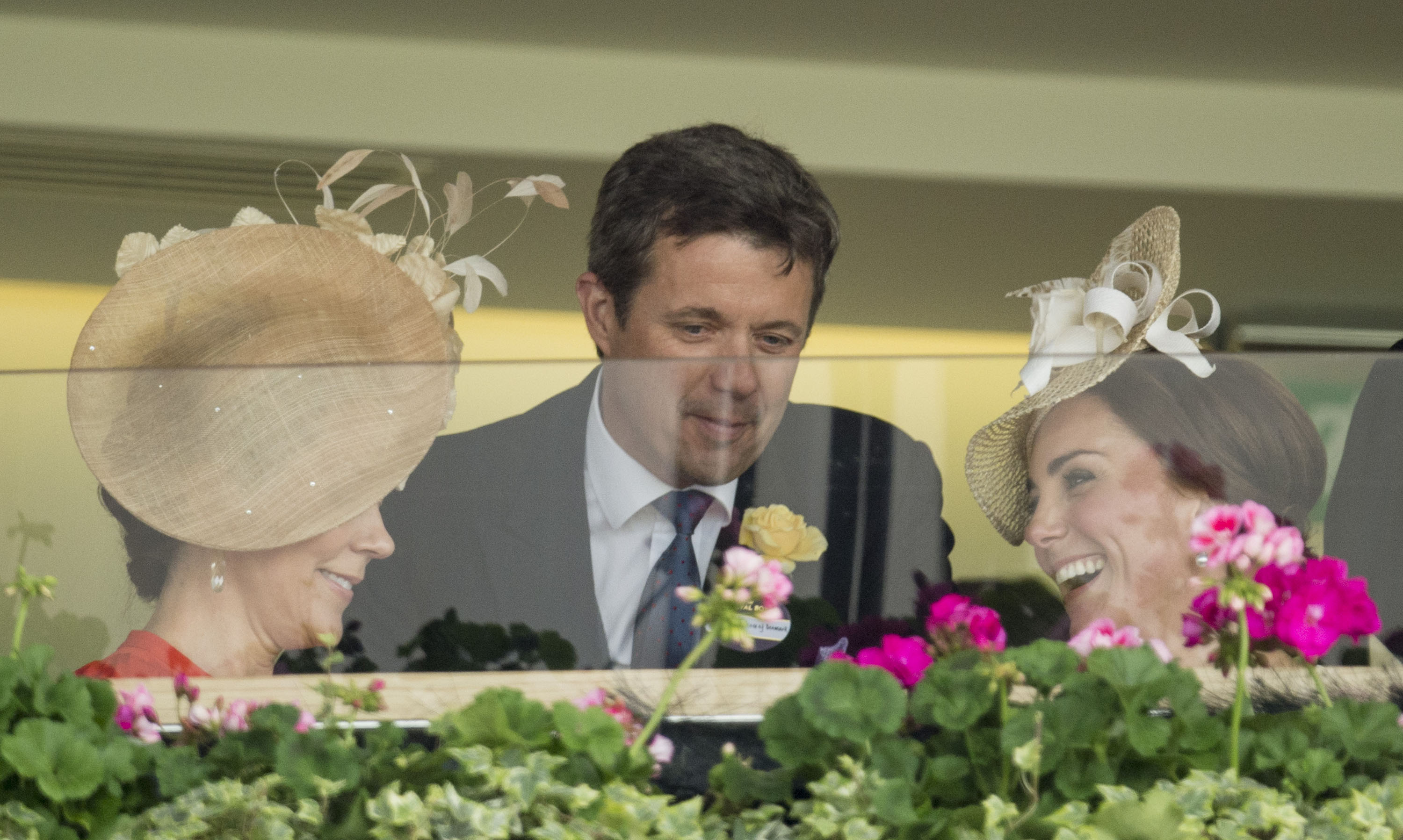 Royal Ascot - Duchess Kate and Princess Mary