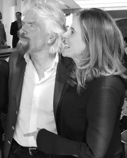 Richard Branson & Lisa