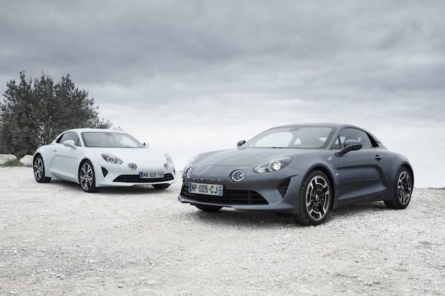 アルピーヌ、新型「A110」に2種類のトリムを設定! 新しいボディ・カラーやホイールも用意!