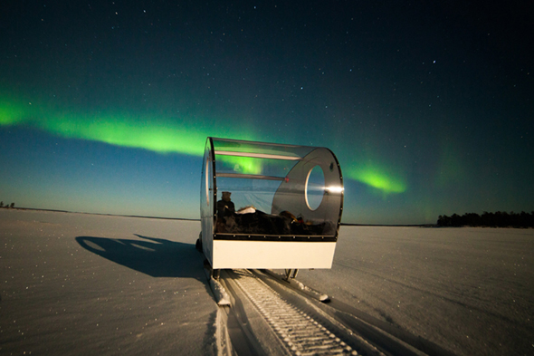 unique ways to see the northern lights
