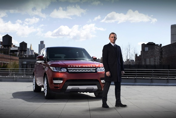 Land Rover and Bond