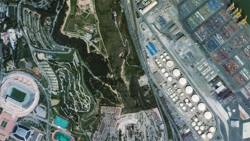动眼看:全球首批全彩 HD 卫星空拍视频