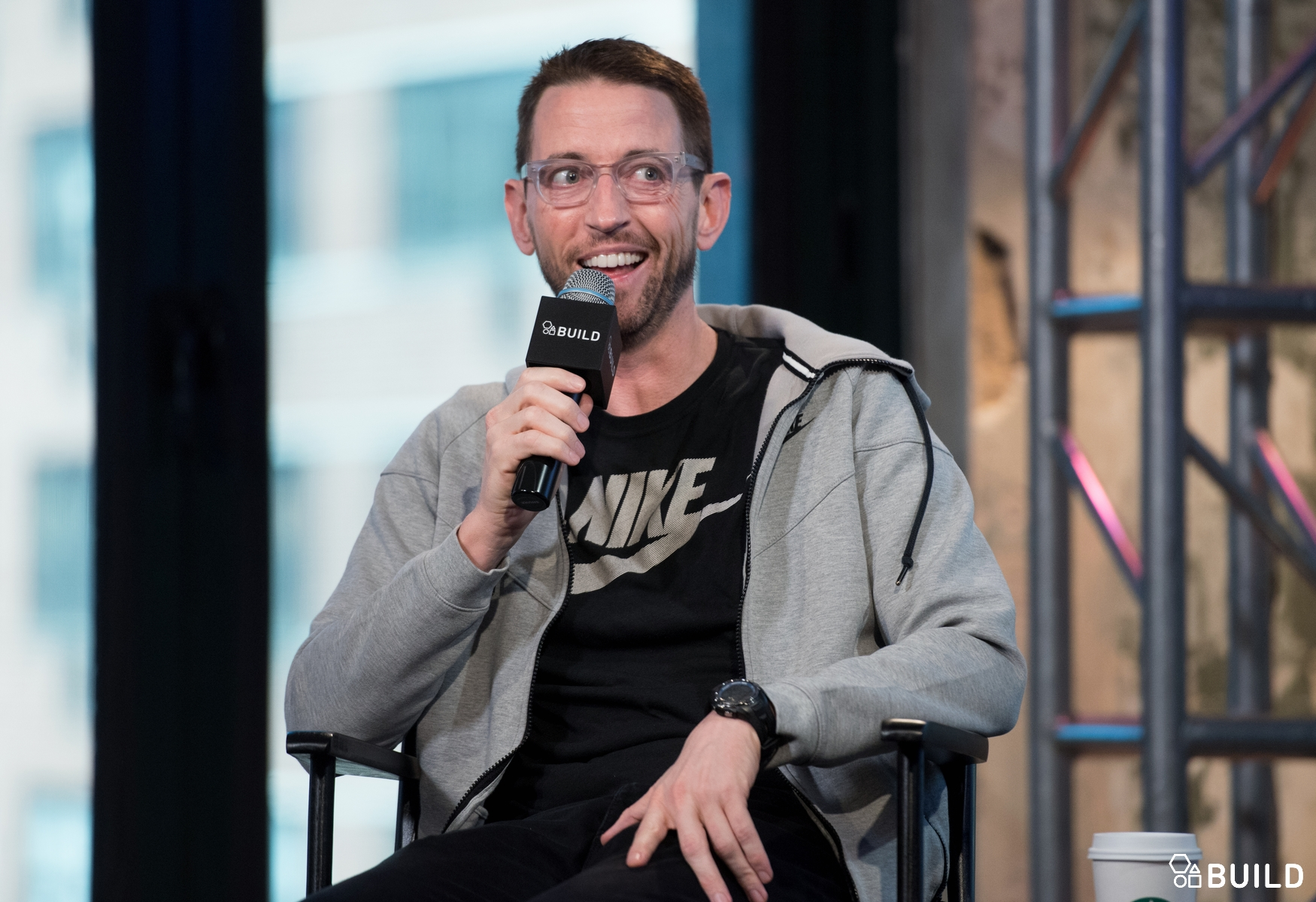 Neal Brennan visits AOL Hq for Build on March 1, 2016 in New York. Photos by Noam Galai