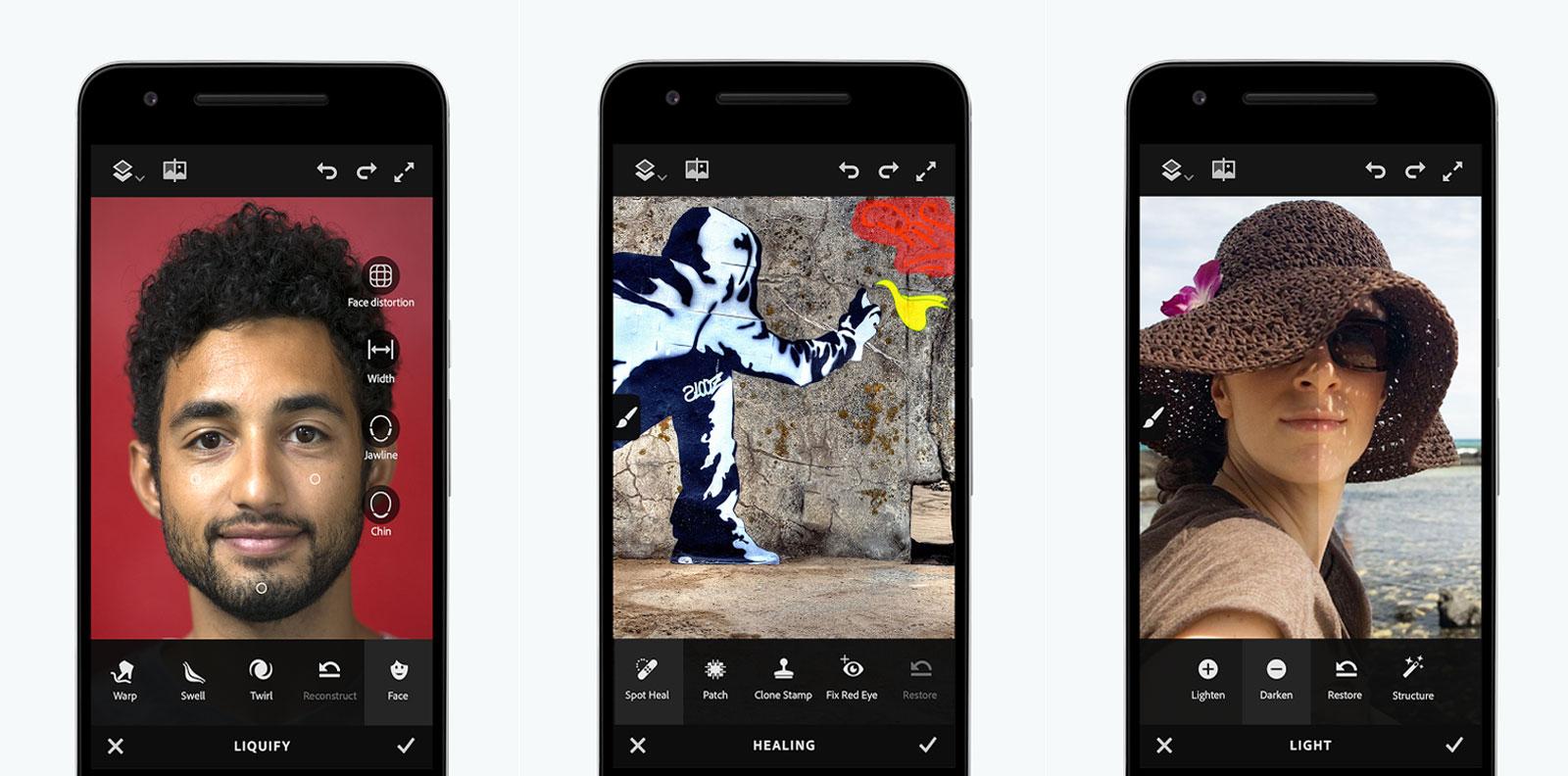 Adobe 的 Photoshop Fix App 终于来到 Android 上