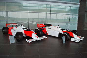 1981 McLaren-Ford MP4-1 & 1984 McLaren-TAG MP4-2