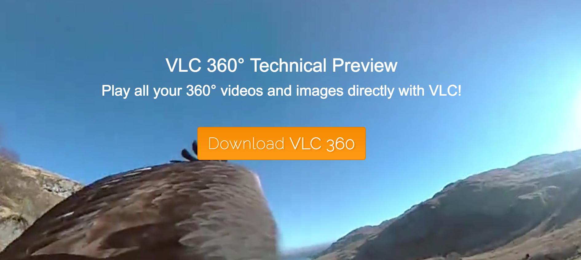 VLC 播放器也要支持 360 度视频播放了