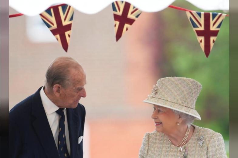 UK's Queen Elizabeth And Prince Philip Celebrate Platinum