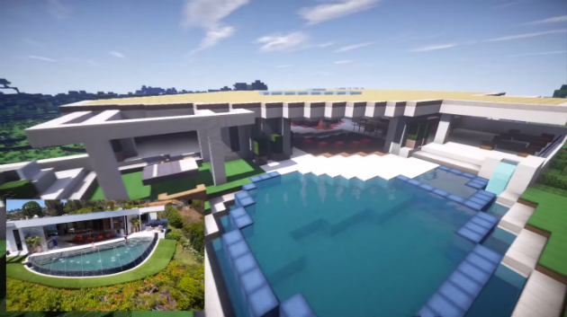 Notch S 70 Million La Mansion Recreated In Minecraft Engadget