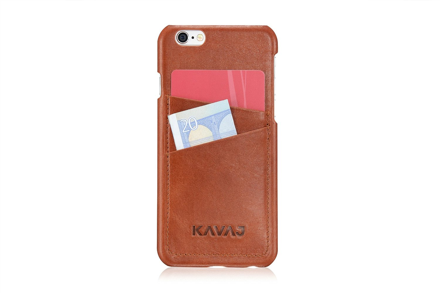 "KAVAJ leather case back cover ""Tokyo"" for the iPhone 6S"