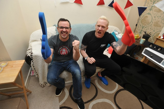 Iwan Thomas in the Argos Fast Track campaign