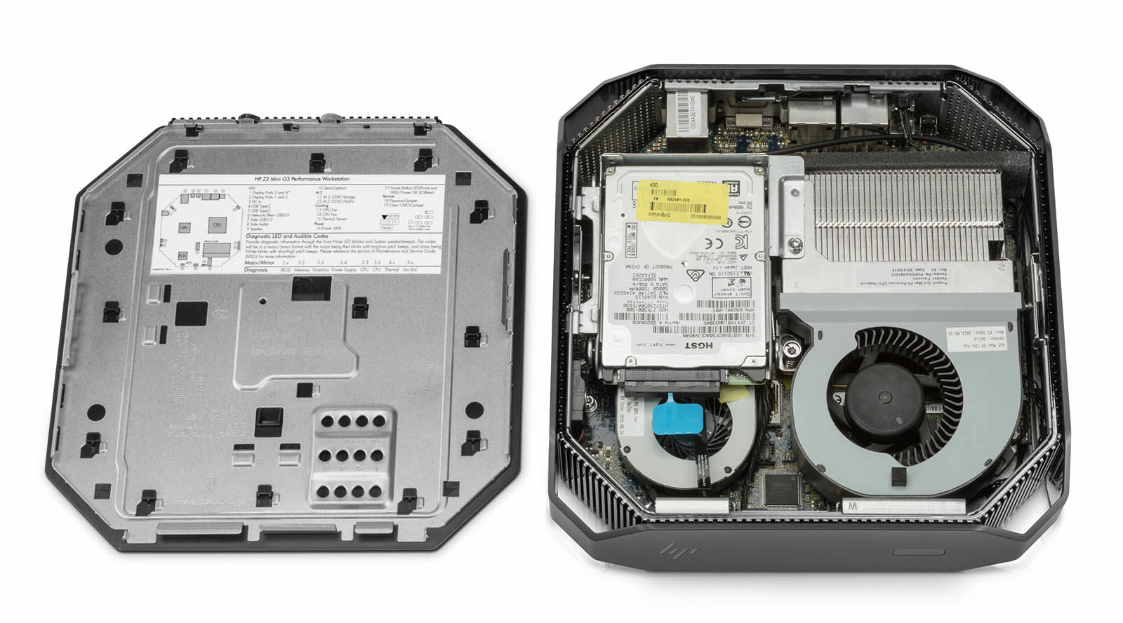 HP's tiny Xeon-powered PC puts the Mac Mini to shame