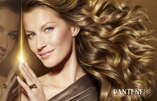 Gisele Bundchen Pantene hair
