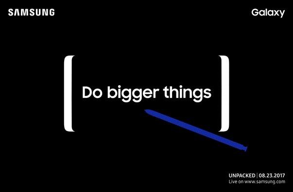 Watch Samsung's Galaxy Note 8 livestream at 11AM ET