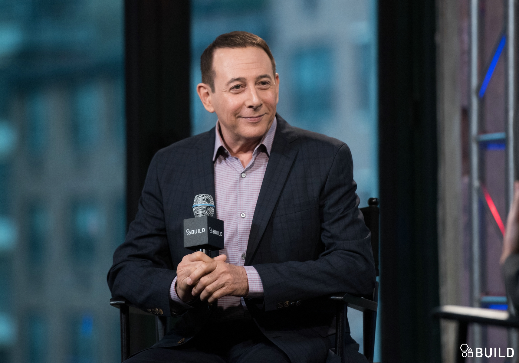 Paul Reubens visits AOL Hq for Build on March 25, 2016 in New York. Photos by Noam Galai