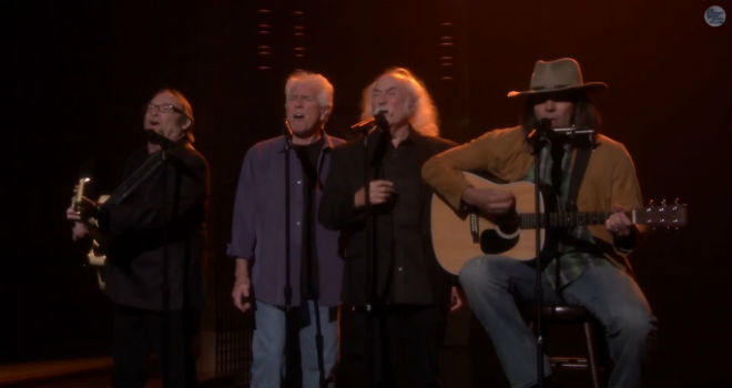 Jimmy Fallon, Crosby, Stills, Nash, Young, Fancy, CSN, CSNY