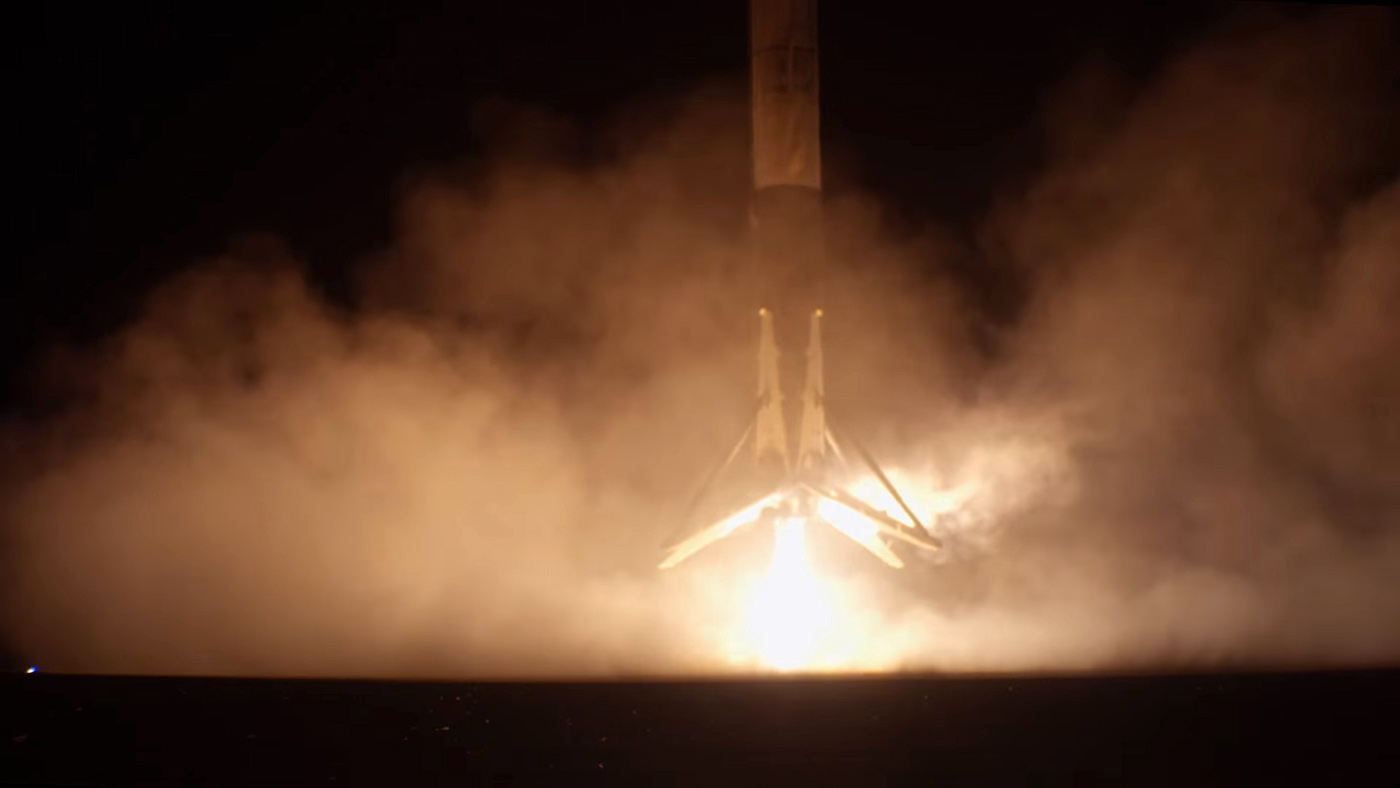 Watch SpaceX staff erupt as Falcon 9 nails the landing