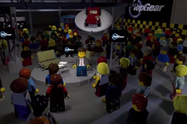 【ビデオ】BBC『トップギア』最新シーズンのトレーラーで司会の3人がレゴになって登場