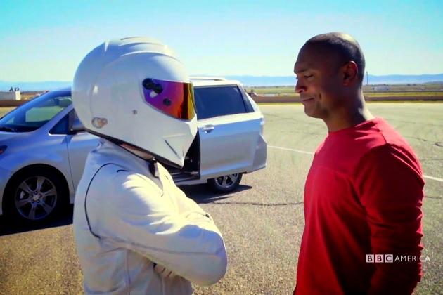 【ビデオ】あの覆面レーサーも登場! BBCアメリカの新番組『Top Gear America』が7月30日に放映開始