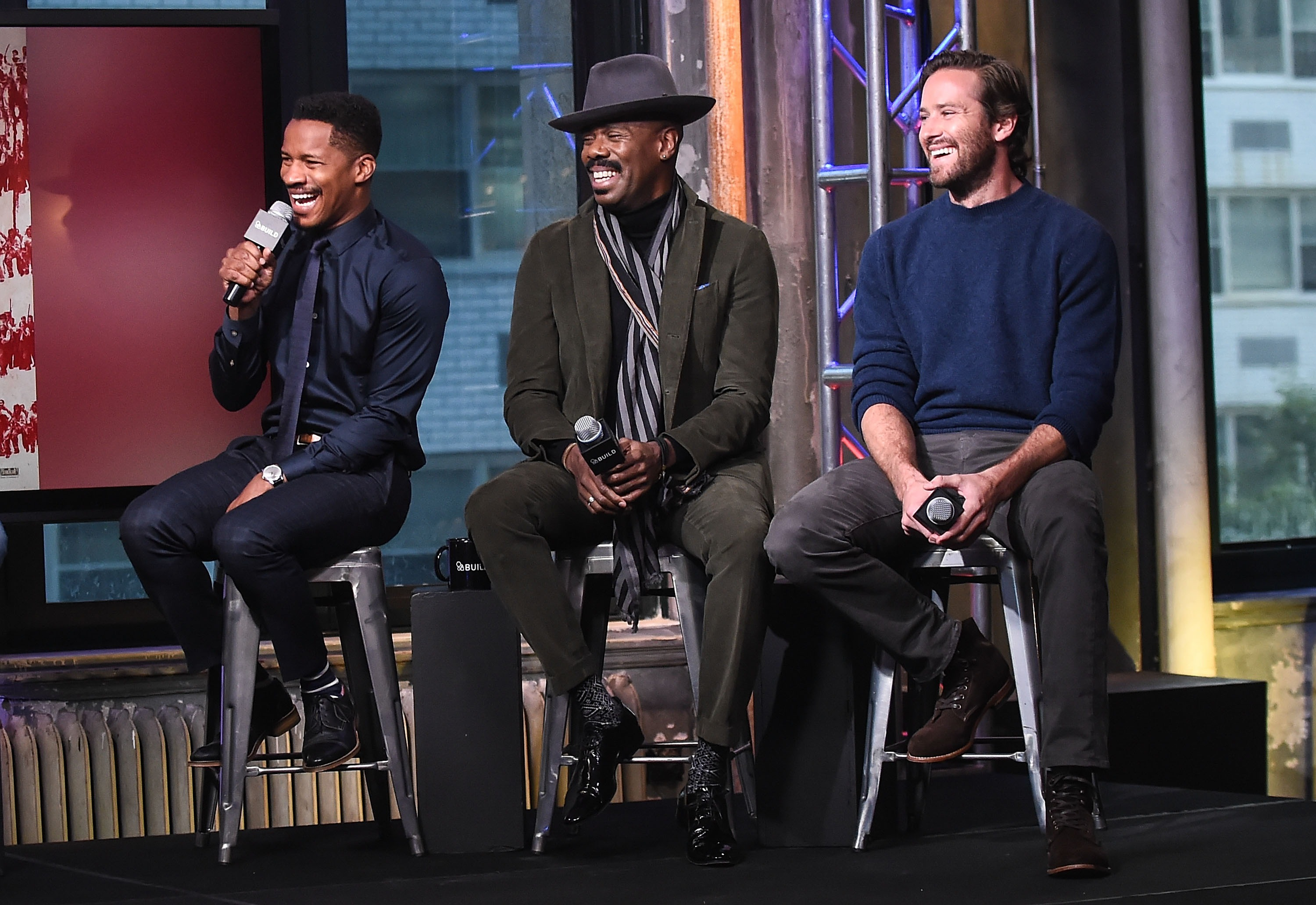 "The Build Series Presents The Cast Of ""The Birth Of A Nation"""