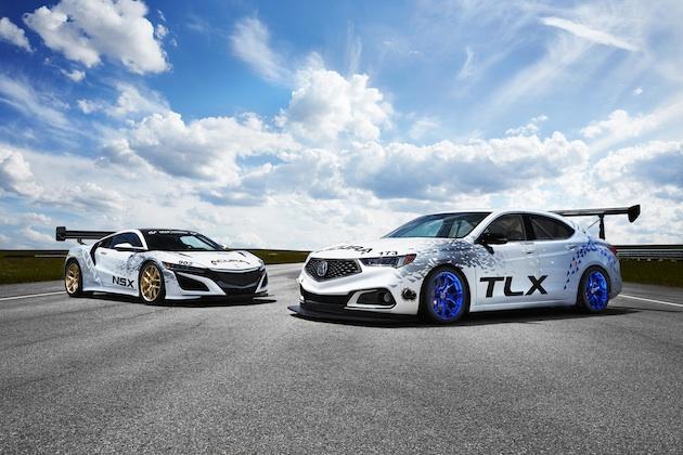 【ビデオ】アキュラ、2台の「TLX」とGT3マシンから着想を得た「NSX」でパイクスピークに参戦!