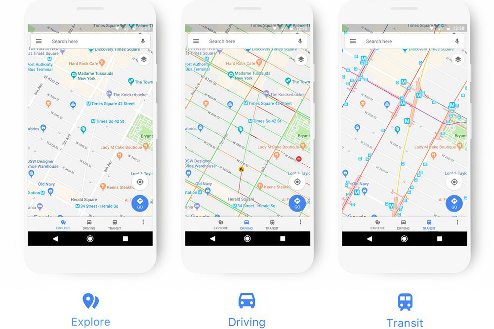 Google Maps' new look adapts to how you travel on goolge maps, googlr maps, stanford university maps, android maps, amazon fire phone maps, aerial maps, road map usa states maps, ipad maps, gppgle maps, iphone maps, googie maps, gogole maps, aeronautical maps, topographic maps, online maps, microsoft maps, search maps, waze maps, msn maps, bing maps,