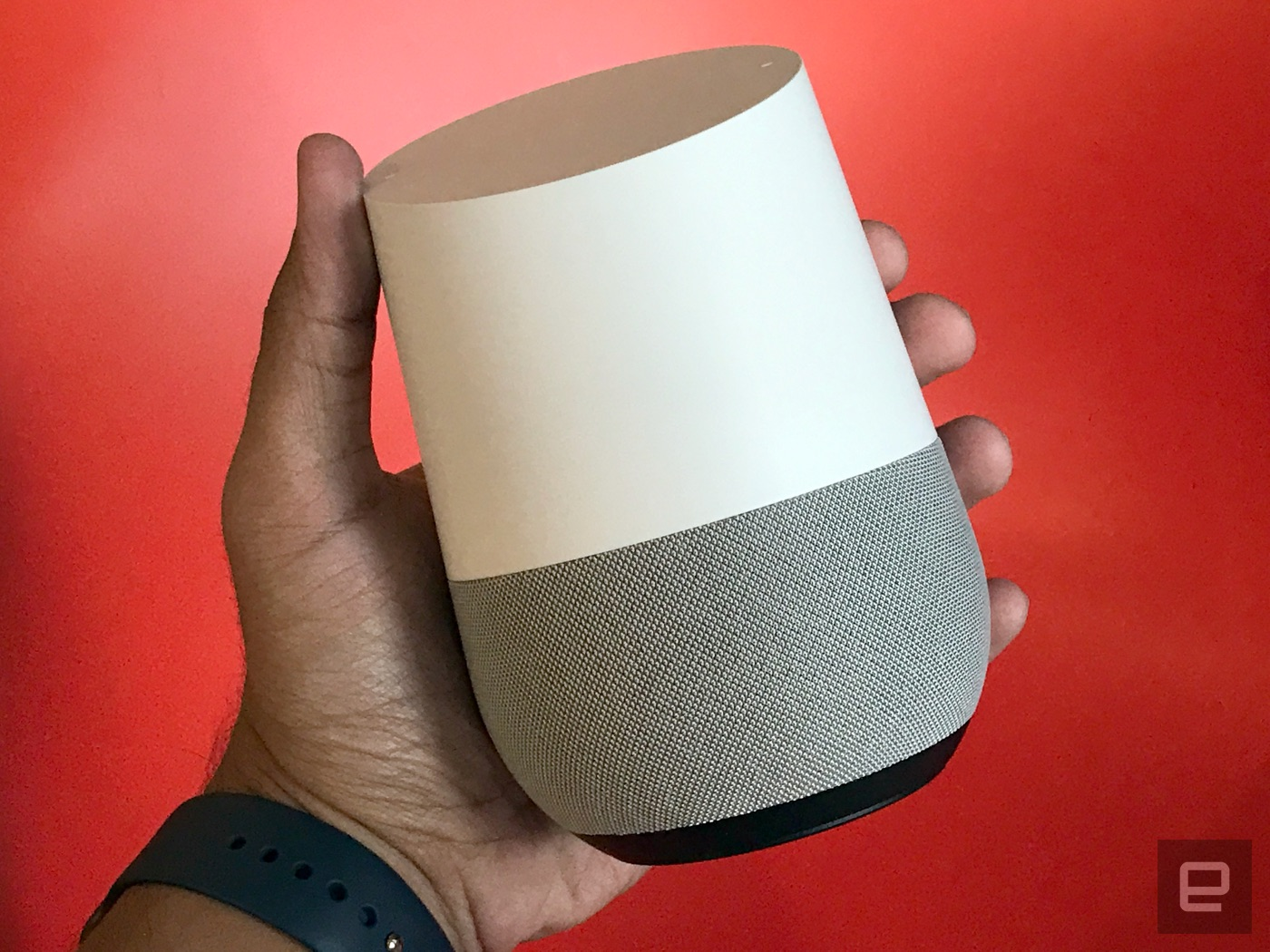 google home review the assistant steps into your living room
