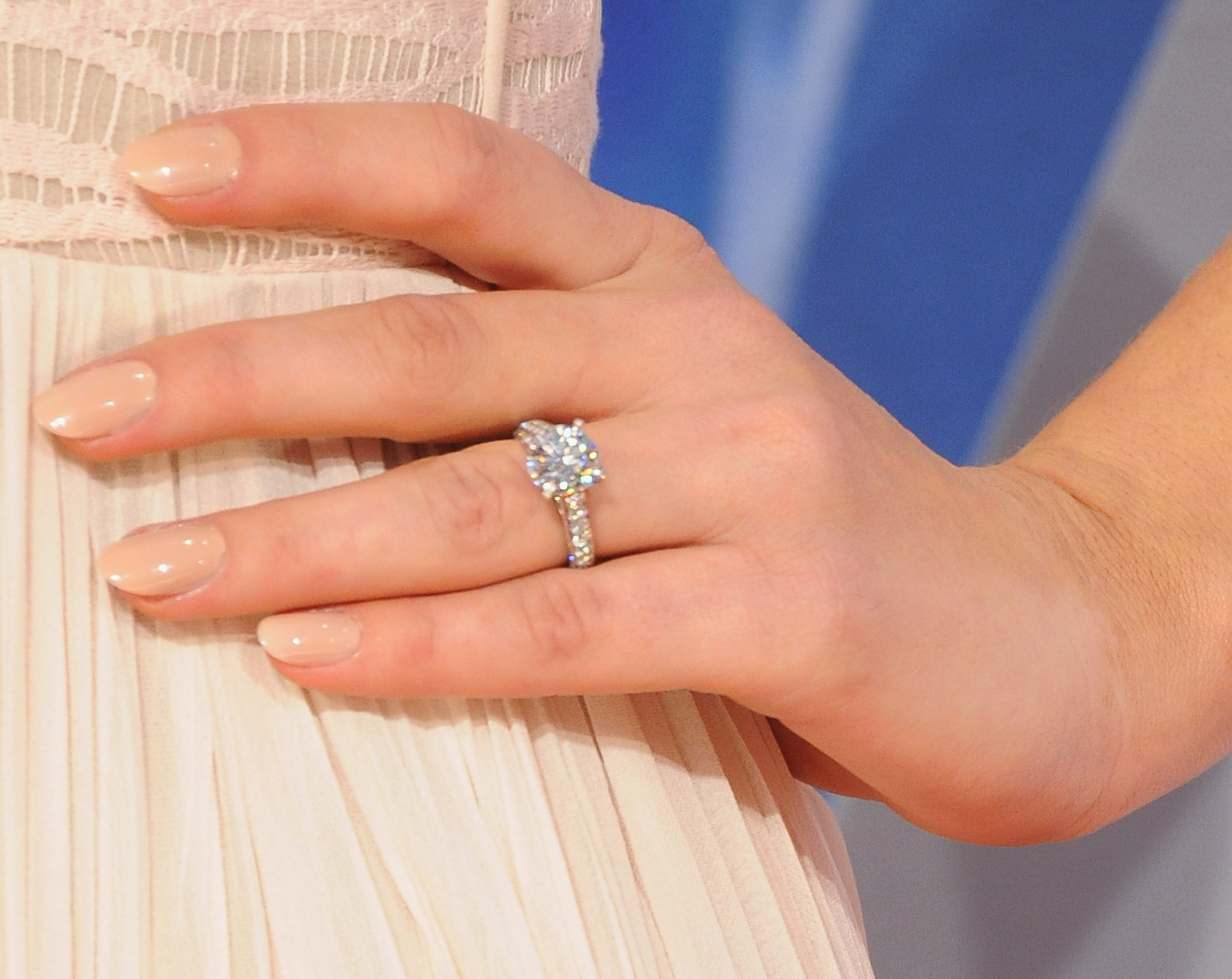 Hannah Davis engagement ring