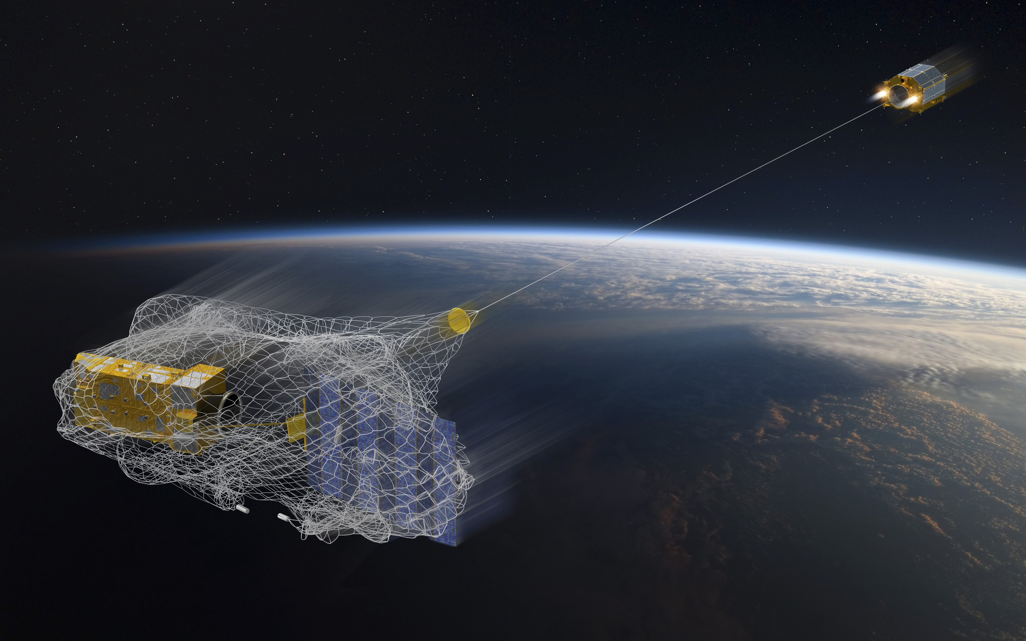 The robots that will sweep Earth's skies