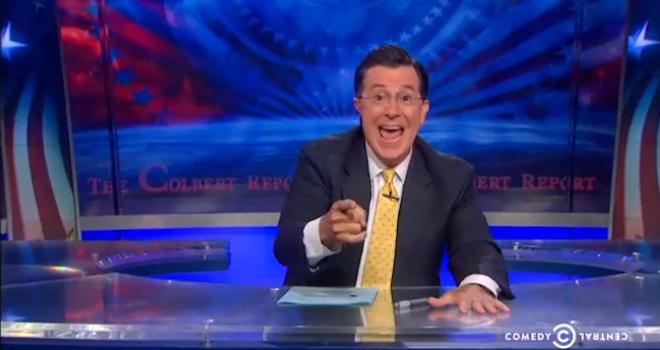 Colbert Announced New Captain America
