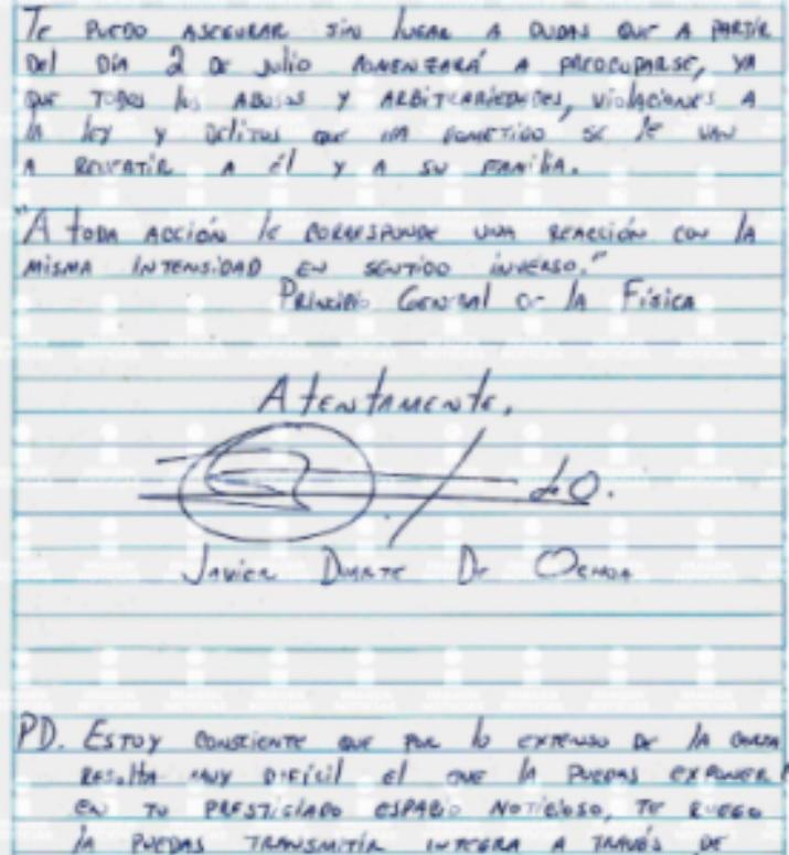 'Los Duarte Macías no viven con lujos' dice Javier Duarte y acusa persecución de